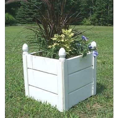 BarHarborCedar Cedar Planter Box; 13'' H x 14'' W x 14'' D