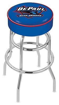 Holland Bar Stool NCAA 25'' Swivel Bar Stool; DePaul Blue Demons WYF078279504099