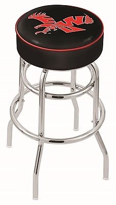 Holland Bar Stool NCAA 25'' Swivel Bar Stool; Eastern Washington Eagles WYF078279504102