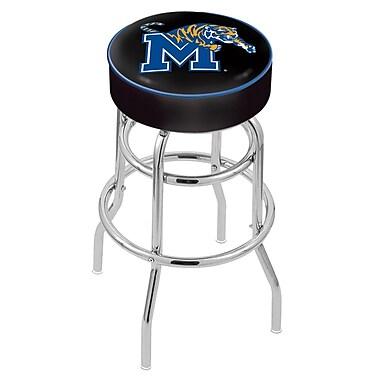 Holland Bar Stool NCAA 25'' Swivel Bar Stool; Memphis Tigers