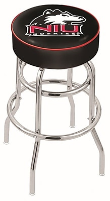 Holland Bar Stool NCAA 25'' Swivel Bar Stool; Northern Illinois Huskies WYF078279503983