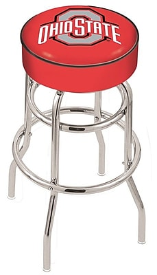 Holland Bar Stool NCAA 25'' Swivel Bar Stool; Ohio State Buckeyes WYF078279503832