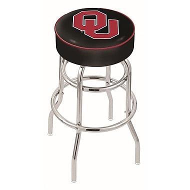 Holland Bar Stool NCAA 25'' Swivel Bar Stool; Oklahoma Sooners