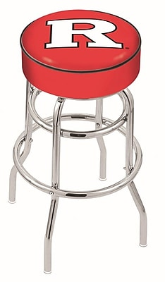 Holland Bar Stool NCAA 25'' Swivel Bar Stool; Rutgers Scarlet Knights WYF078279504003