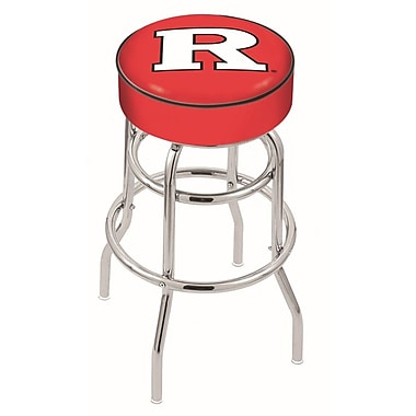 Holland Bar Stool NCAA 25'' Swivel Bar Stool; Rutgers Scarlet Knights
