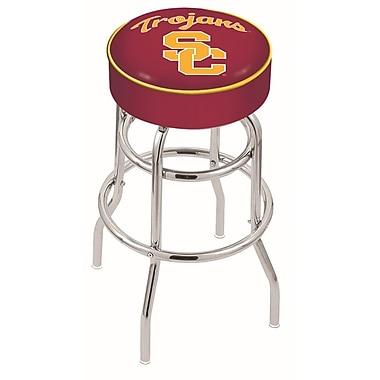 Holland Bar Stool NCAA 25'' Swivel Bar Stool; USC Trojans