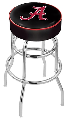 Holland Bar Stool NCAA 25'' Swivel Bar Stool; Alabama Crimson Tide WYF078279503905