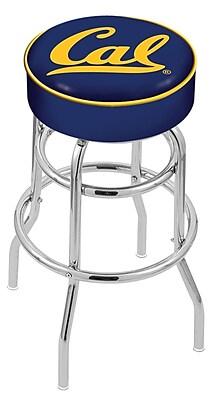 Holland Bar Stool NCAA 25'' Swivel Bar Stool; California Golden Bears WYF078279504015