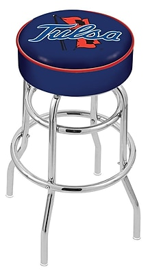 Holland Bar Stool NCAA 25'' Swivel Bar Stool; Tulsa Golden Hurricane WYF078279503891