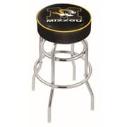 Holland Bar Stool NCAA 25'' Swivel Bar Stool; Missouri Tigers