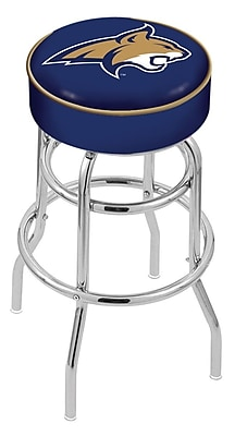 Holland Bar Stool NCAA 25'' Swivel Bar Stool; Montana State Bobcats WYF078279503908