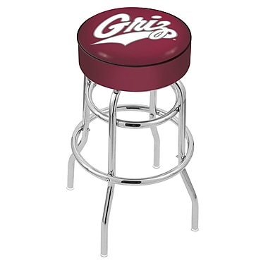 Holland Bar Stool NCAA 25'' Swivel Bar Stool; Montana Grizzlies