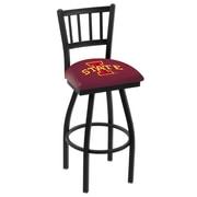 Holland Bar Stool NCAA 44'' Swivel Bar Stool; Iowa State Cyclones