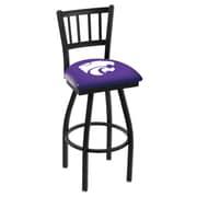 Holland Bar Stool NCAA 44'' Swivel Bar Stool; Kansas State Wildcats