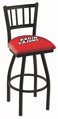 Holland Bar Stool NCAA 39'' Swivel Bar Stool; Louisiana- Lafayette Ragin' Cajuns WYF078279503643