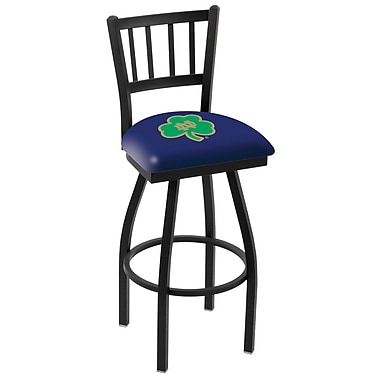 Holland Bar Stool NCAA 39'' Swivel Bar Stool; Notre Dame Fighting Irish- Shamrock