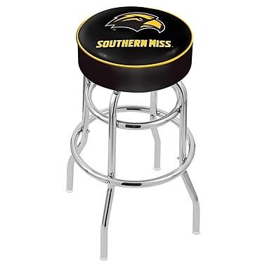Holland Bar Stool NCAA 25'' Swivel Bar Stool; Southern Miss Golden Eagles