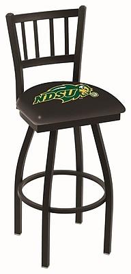 Holland Bar Stool NCAA 39'' Swivel Bar Stool; North Dakota State Bison WYF078279503668
