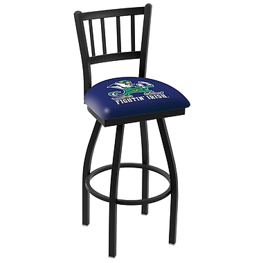 Holland Bar Stool NCAA 44'' Swivel Bar Stool; Notre Dame Fighting Irish- Leprechaun