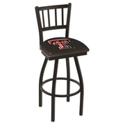 Holland Bar Stool NCAA 39'' Swivel Bar Stool; Texas Tech Red Raiders