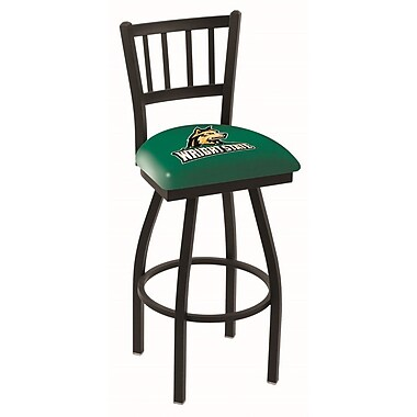 Holland Bar Stool NCAA 44'' Swivel Bar Stool; Wright State Raiders