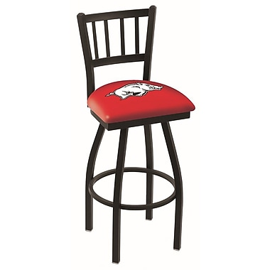 Holland Bar Stool NCAA 39'' Swivel Bar Stool; Arkansas Razorbacks
