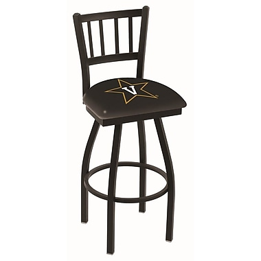 Holland Bar Stool NCAA 39'' Swivel Bar Stool; Vanderbilt Commodore