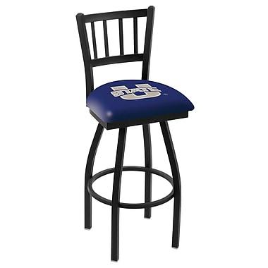 Holland Bar Stool NCAA 44'' Swivel Bar Stool; Utah State Aggies