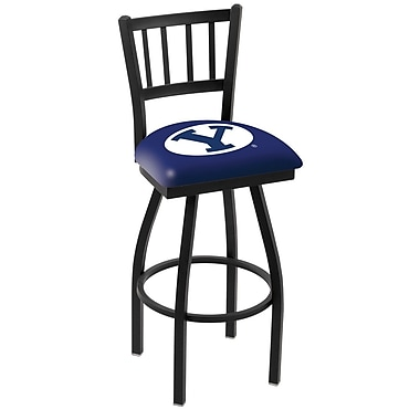 Holland Bar Stool NCAA 39'' Swivel Bar Stool; Brigham Young University Cougars