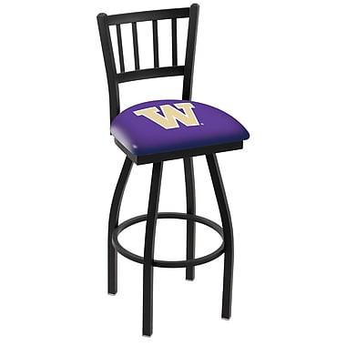 Holland Bar Stool NCAA 44'' Swivel Bar Stool; Washington State Cougars