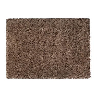 Rug Modern Loft Brown Area Rug; Square 6'7''