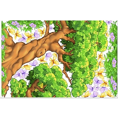IStickUp Enchanted Woods Wall Decal; 30'' H x 19'' W