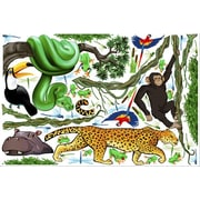 IStickUp Jungle Exploration Wall Decal; 19'' H x 30'' W