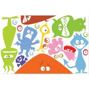 IStickUp Monsters Wall Decal; 19'' H x 30'' W
