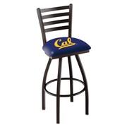 Holland Bar Stool NCAA 39'' Swivel Bar Stool; California Golden Bears