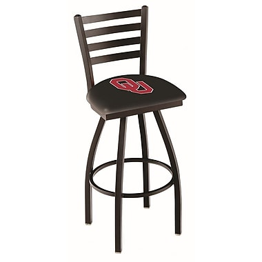 Holland Bar Stool NCAA 44'' Swivel Bar Stool; Oklahoma Sooners