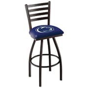 Holland Bar Stool NCAA 44'' Swivel Bar Stool; Penn State Nittany Lions