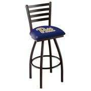 Holland Bar Stool NCAA 44'' Swivel Bar Stool; Pittsburgh Panthers