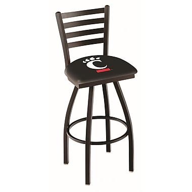 Holland Bar Stool NCAA 44'' Swivel Bar Stool; Cincinnati Bearcats