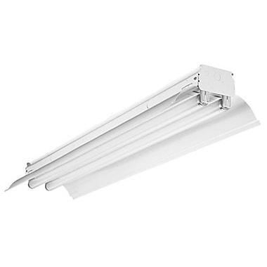 Lithonia Lighting 2-Light General Purpose Hooded Strip Light w/ Uplight Reflector