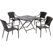 Hanover Orleans 5 Piece Dining Set