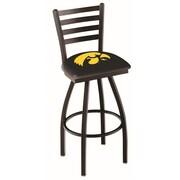 Holland Bar Stool NCAA 44'' Swivel Bar Stool; Iowa Hawkeyes
