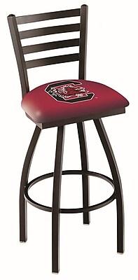 Holland Bar Stool NCAA 44'' Swivel Bar Stool; South Carolina Gamecocks