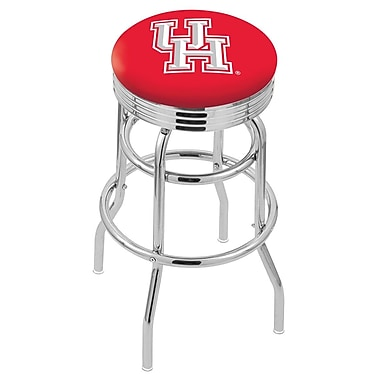 Holland Bar Stool NCAA Swivel Bar Stool; Houston Cougars