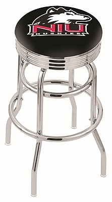 Holland Bar Stool NCAA Swivel Bar Stool; Northern Illinois Huskies WYF078279504226