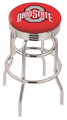 Holland Bar Stool NCAA Swivel Bar Stool; Ohio State Buckeyes WYF078279504229