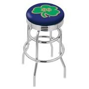 Holland Bar Stool NCAA Swivel Bar Stool; Notre Dame Fighting Irish- Shamrock