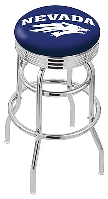 Holland Bar Stool NCAA Swivel Bar Stool; Nevada Wolf Pack WYF078279504237