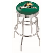 Holland Bar Stool NCAA Swivel Bar Stool; Wright State Raiders