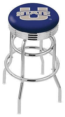 Holland Bar Stool NCAA Swivel Bar Stool; Utah State Aggies WYF078279504203
